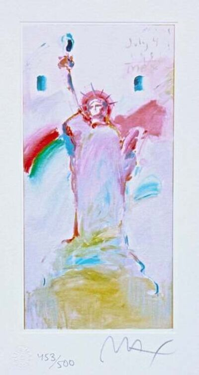 Peter Max, 'Statue of Liberty VII', 2003