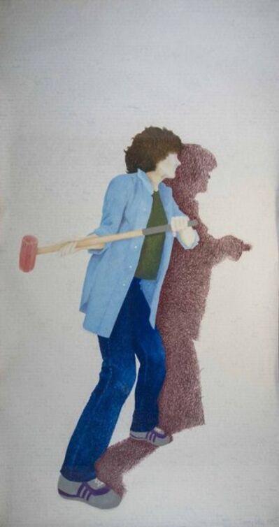 Suzy Lake, 'Boundaries', 1985