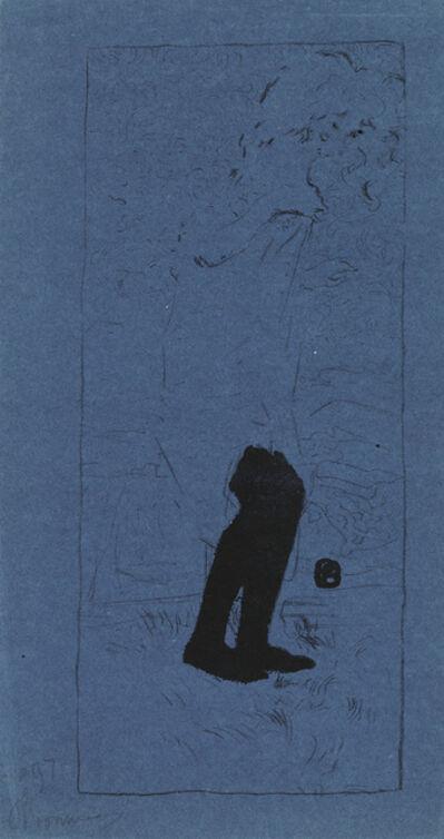 Pierre Bonnard, 'Jeune Femme au bas noirs.', 1893