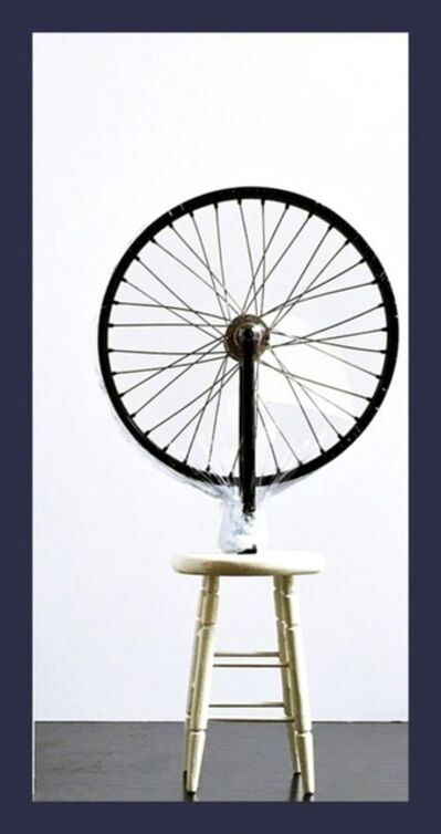 "Marcel Duchamp, 'Bicycle Wheel Sculpture (Limited Edition 9"" Working Replica Exclusively for the Philadelphia Museum of Art)', 2002"