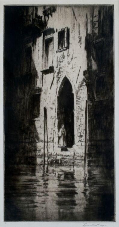 Levon West, 'Doorway, Venice', 1931