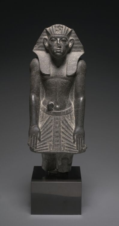Egypt, Middle Kingdom, Dynasty 12 (1980-1801), reign of Amenemhat III, 'Statue of Amenemhat III', c. 1859-1814 BC