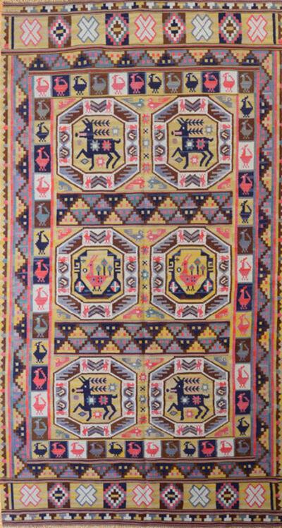 Märta Måås-Fjetterström, 'Rare flat weave rug', 1919