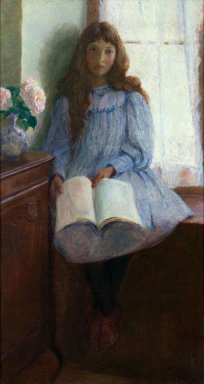 Lilla Cabot Perry, 'Un Jour de Pluie', 1896