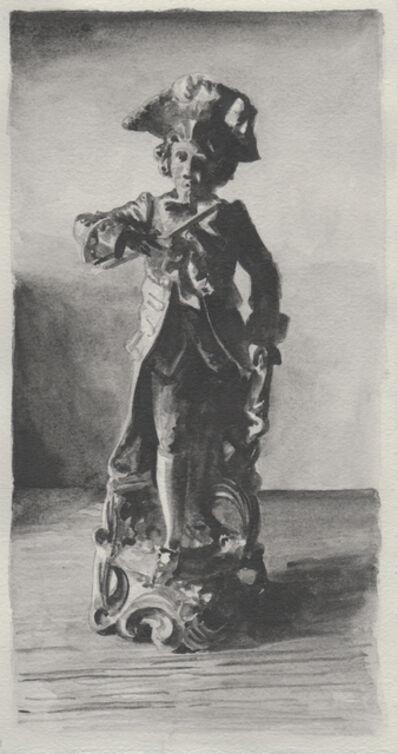 Richard Moon, 'Aristocrat XIII (monochrome version)', 2020