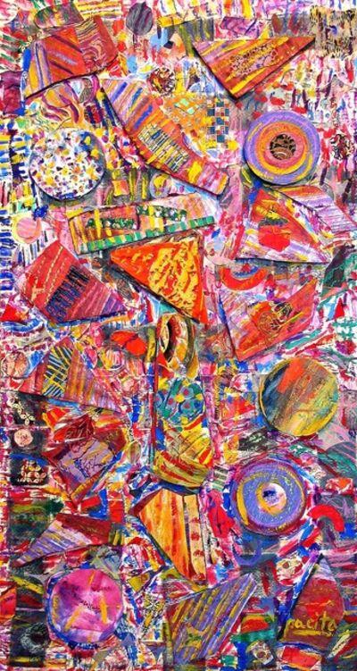 Pacita Abad, 'Scream against the sky', 2004