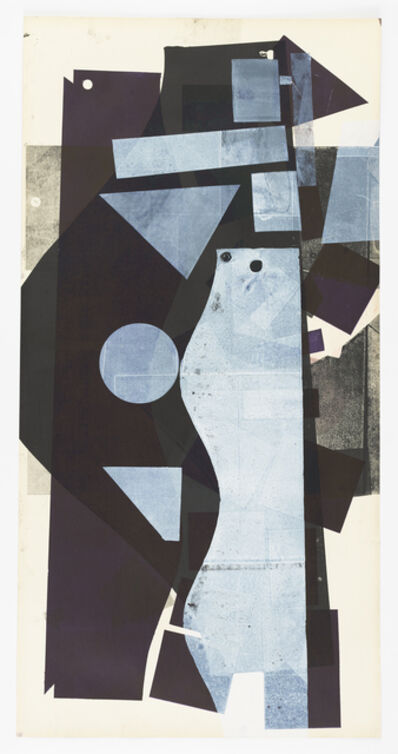 Austin Thomas, 'White Patterns Purple Ground and Black', 2020