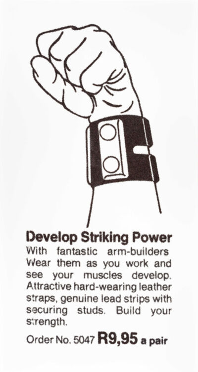 Hank Willis Thomas, 'Develop Striking Power', 2014