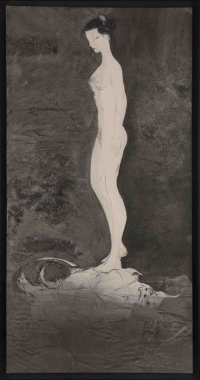 Amano Yoshitaka, 'Lady Noir 7', 2019