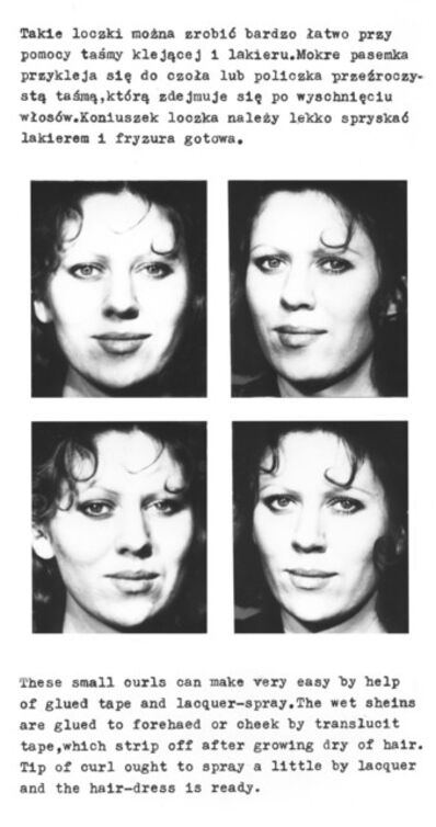 Jolanta Marcolla, 'Small curls', 1975
