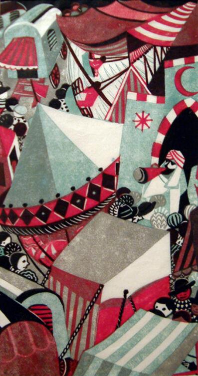Lill Tschudi, 'Village Fair II', 1948
