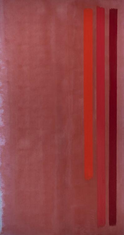 William Perehudoff, 'Vertical Reds', 1973