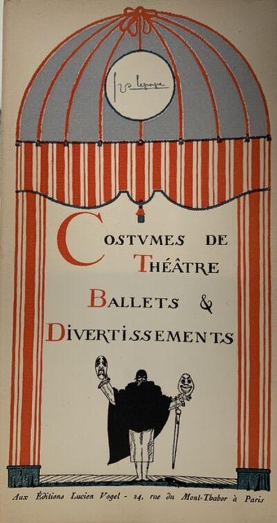 Georges Lepape, 'Costumes de Théâtre, Ballets et Divertissements', 1920