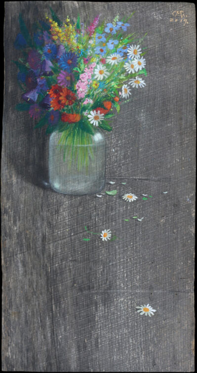 Gocha Kakabadze, 'Still Life with Flowers', 2019