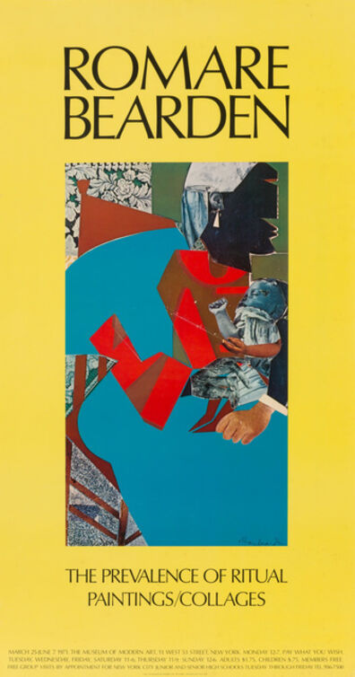 Romare Bearden, 'Eight color posters: Fortune; The Art Gallery, State University New York; Getting It Together; The Prevalence of Ritual, Paintings/Collages (2); Our World a Tenement?; 8 Artistes Afro Americains; Alvin Ailey City Center Dance Theater', 1968-1975