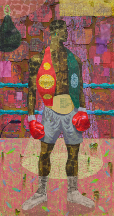 Derek Fordjour, 'Jamestown Champ', 2019