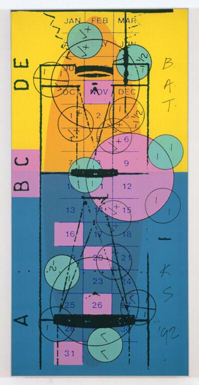 Keith Sonnier, 'Meridian Codex: Print One ', 1992