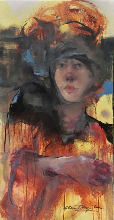Cathrine Edlinger-Kunze, 'Nocturnes in Red', 2018