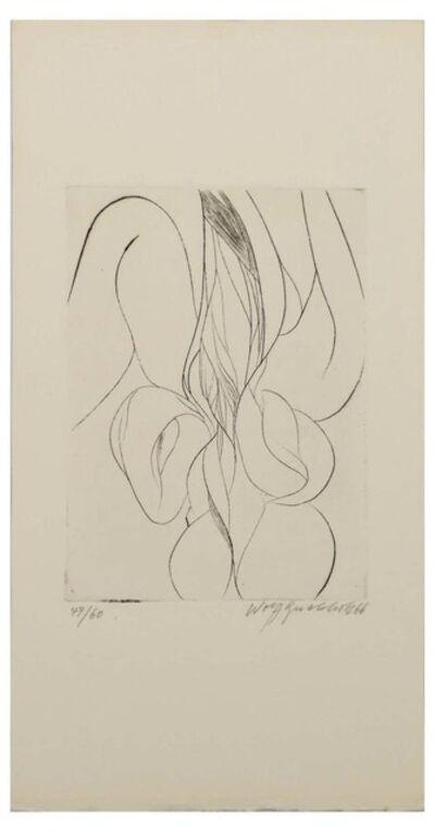 Wolff Buchholz, 'Iris', 1966