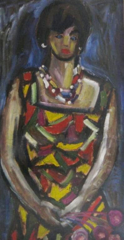Miklós Németh, 'Gypsy Girl', 1963