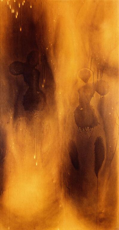 Yves Klein, 'Peinture de feu sans titre (F 80)', 1961