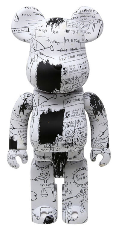 Jean-Michel Basquiat, 'Basquiat Bearbrick 400% Companion (Basquiat BE@RBRICK)', 2019