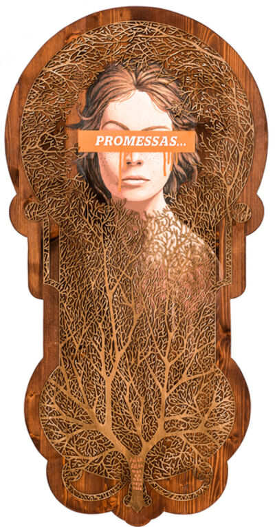Mário Belém, '71. Promessas... (Falas, falas mas não vejo nada) [Promises... (You're Always Going on, but I Haven't Seen a Thing Yet)]', 2017