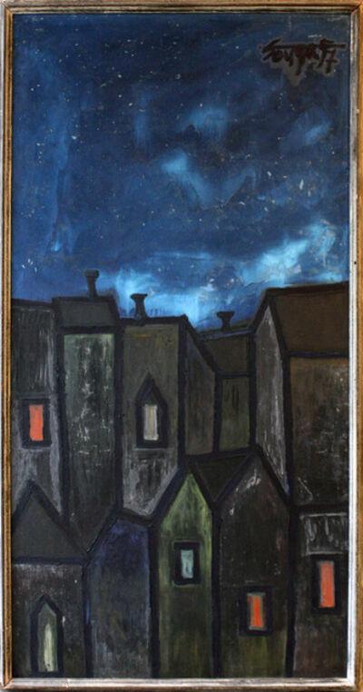 Francis Newton Souza, 'Houses at Night', 1957