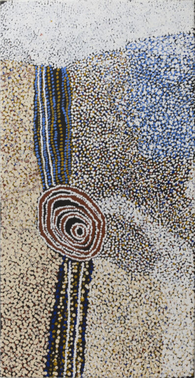 Bill Whiskey Tjapaltjarri, 'Rockholes and Country near the Olgas (77-07344)', 2007