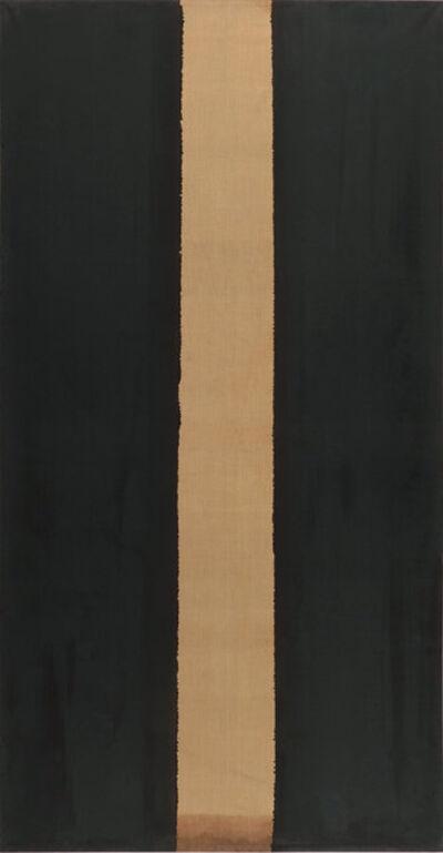 Yun Hyong-keun, 'Burnt Umber & Ultramarine', 1986