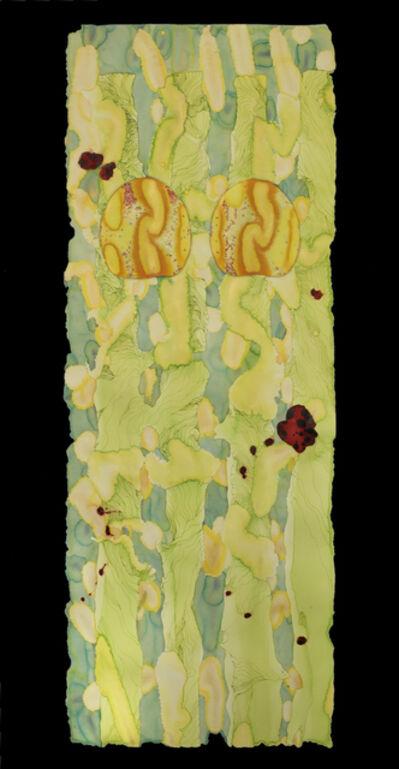 Priscilla Fowler, 'Lime Scroll', ca. 2011