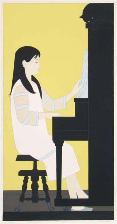 Will Barnet, 'Girl at the Piano', 1973