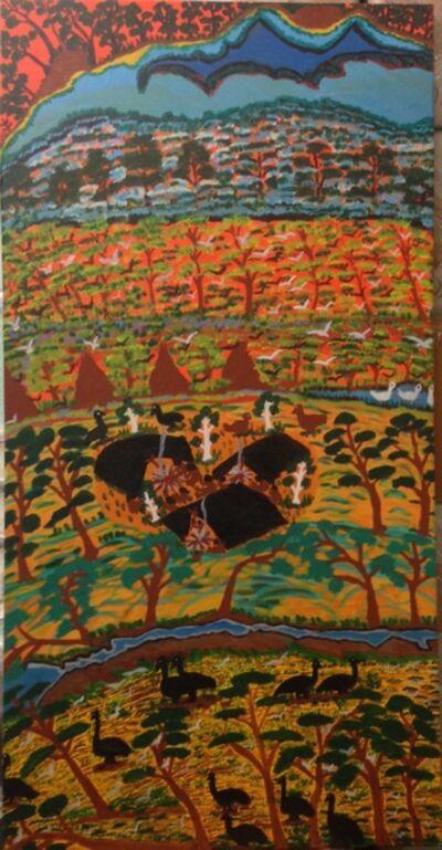 Betty Roberts, 'Campsite at Roper River ', 1996