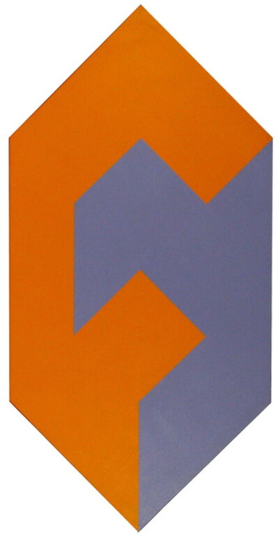 George E. Russell, 'Form to Shape Orange and Purple', 1974