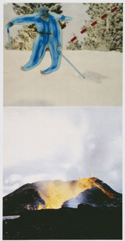 John Baldessari, 'Jump (with Volcano)', 1994-2012