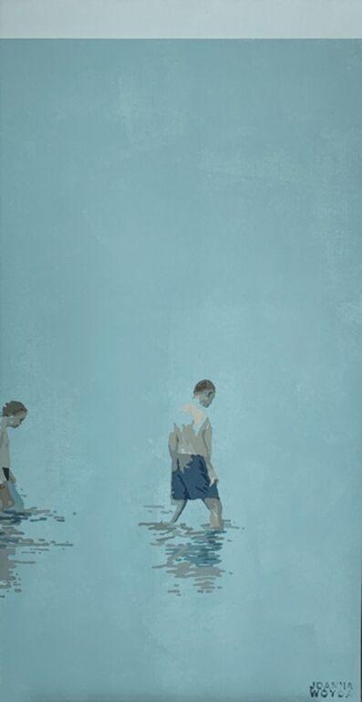 Joanna Woyda, 'The Beach. Father with a son', 2020