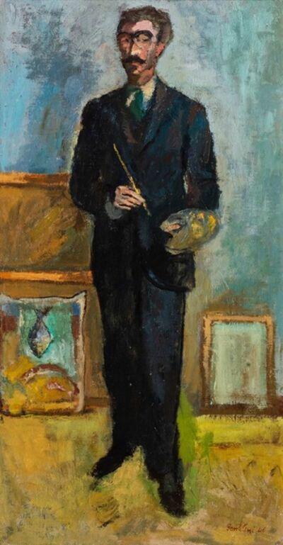 Franco Gentilini, 'Portait of Orfeo Tamburi', 1946