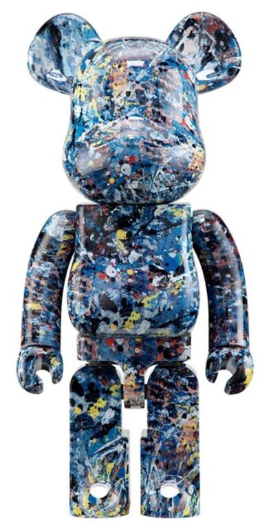 BE@RBRICK, 'Jackson Pollock 1000%', 2016