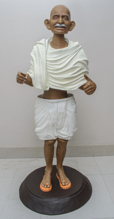 Debanjan Roy, 'Toy Gandhi 6 (Small Bobble Head)', 2019