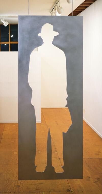 Jonathan Borofsky, 'Man With a Briefcase', 1982
