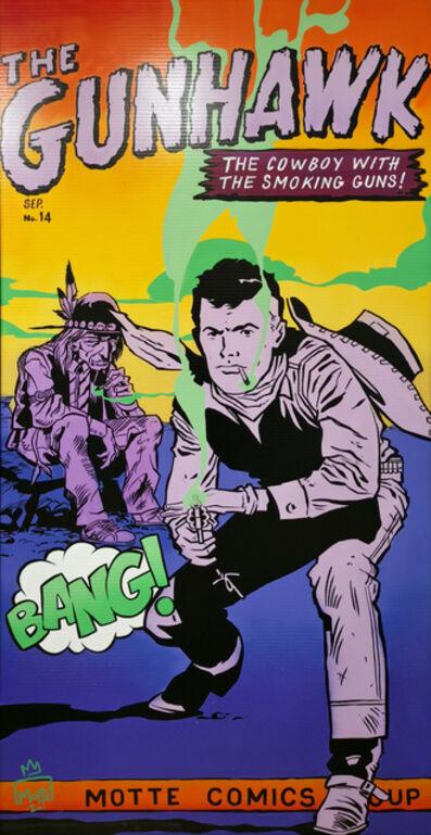 Motte, 'The gunhawk', 2020