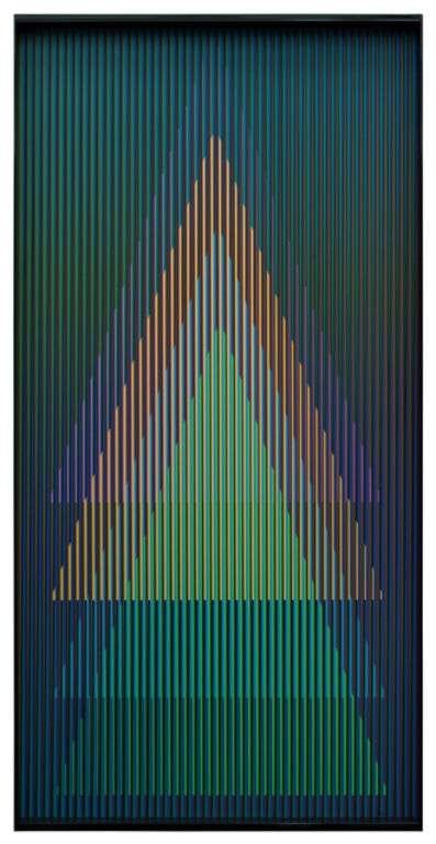 Carlos Cruz-Diez, 'Cromointerferencia Espacial 60', 1964-2018