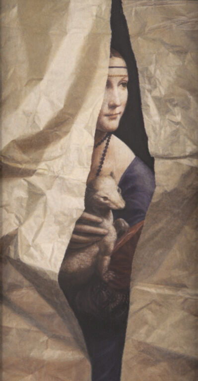 Lucy Mackenzie, 'Leonardo Lady with Torn Paper', 2010
