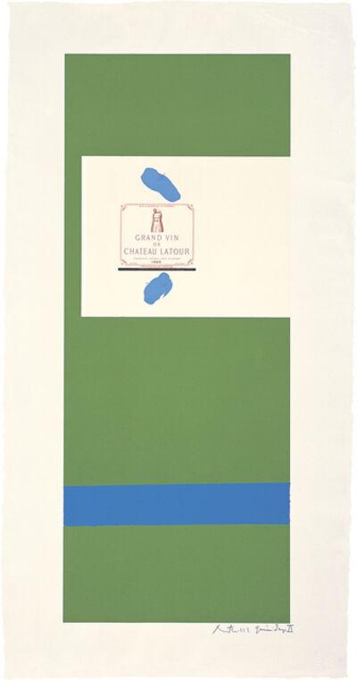 Robert Motherwell, 'Summer Light Series: Pauillac #3', 1973