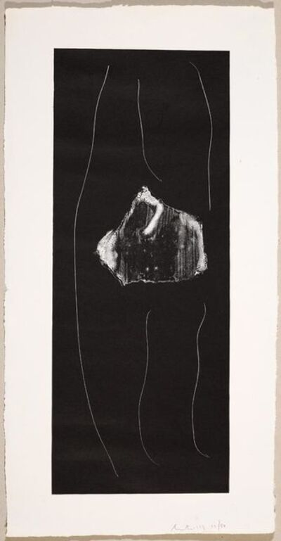 Robert Motherwell, 'Soot-Black Stone # 1', 1973