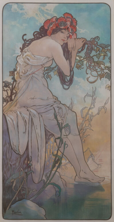 Alphonse Mucha, 'The Seasons  (a suite of four works)', 1896
