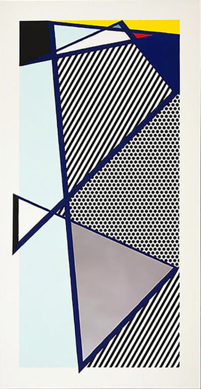 Roy Lichtenstein, 'Imperfect Print for B.A.M.', 1987