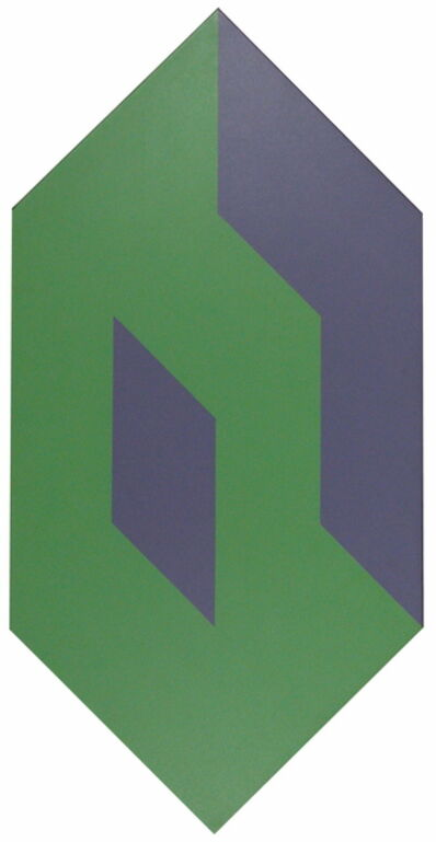 George E. Russell, 'Shape to Form Green and Purple', 1974