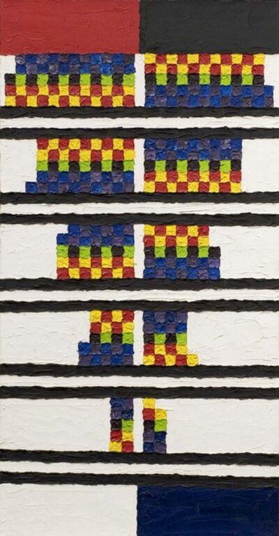 Alfred Jensen, 'Incomplete Color Scale', 1963