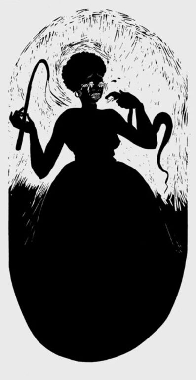 Kara Walker, 'Boo-hoo (for Parkett 59)', 2000